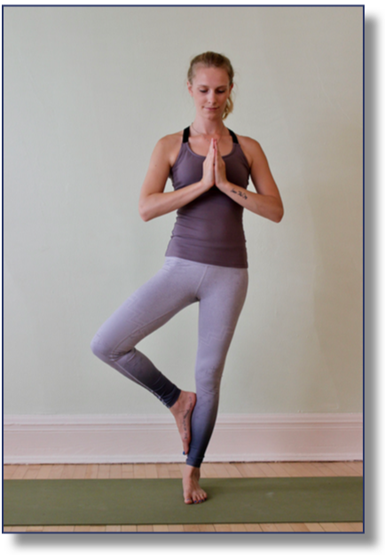 Yoga classes are offered June through August