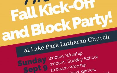 Fall Kickoff & Block Party!